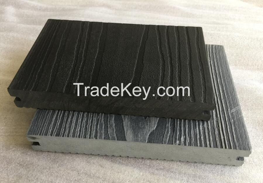 Solid Decking Boards 150x25mm Embossment  WPC Decking