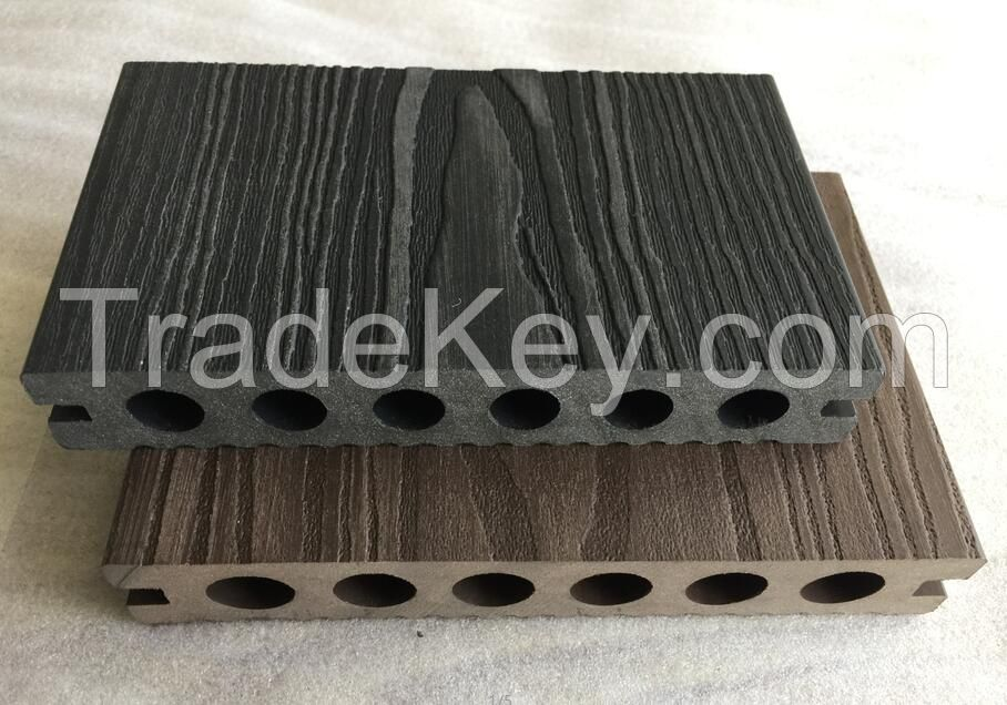 Decking Boards 150x25mm Embossment  WPC Composite Decking