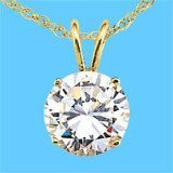 9k Yellow Gold Pendant With Gemstone (LPG1114)