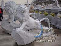 stone carving - lion