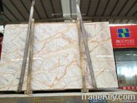Spider onyx slab and tiles